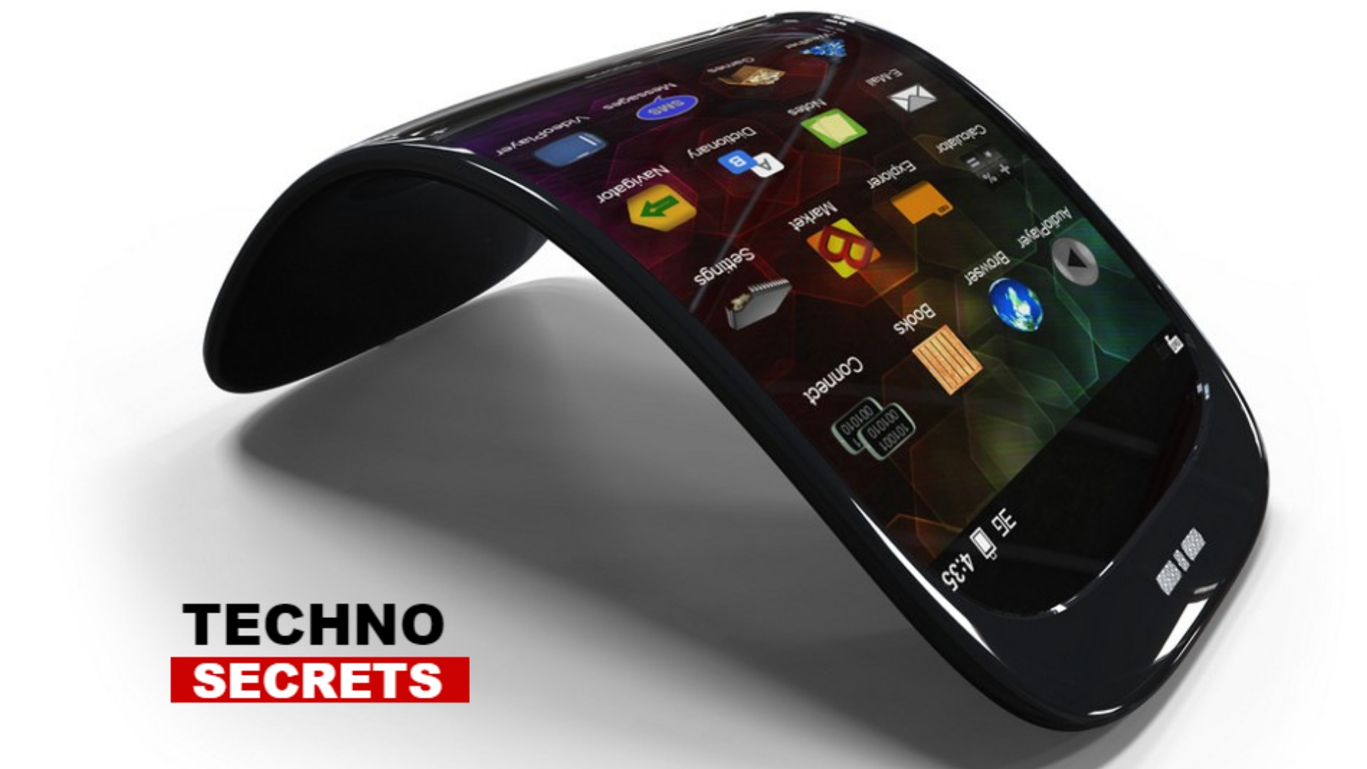 Bendable phone