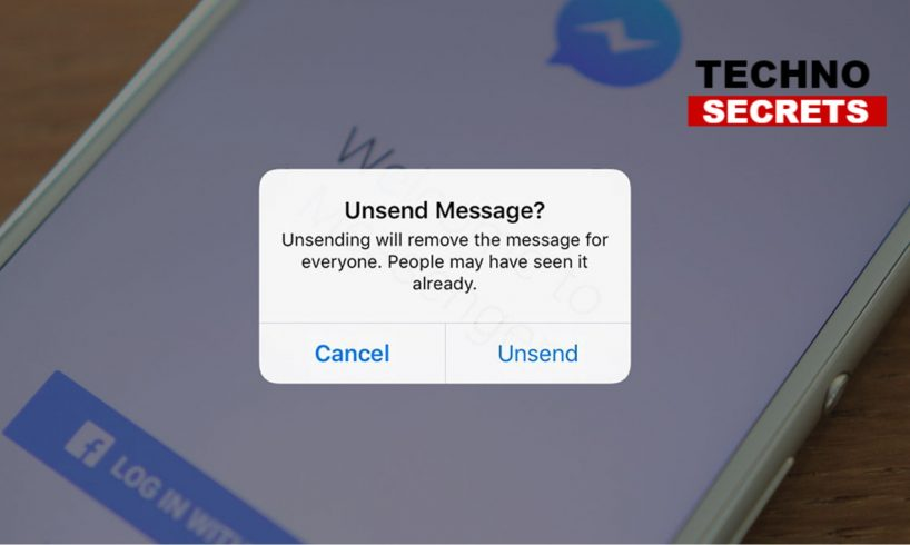 Facebook Messenger Unsend Button
