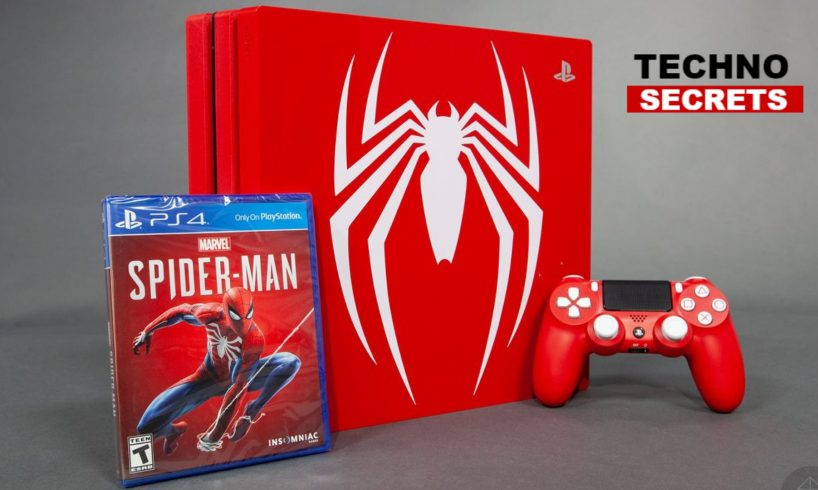 spiderman limited edition PS4