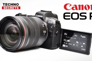 Canon EOS R: UHD 4K up to 60p With Full Frame Vertue Mirror less