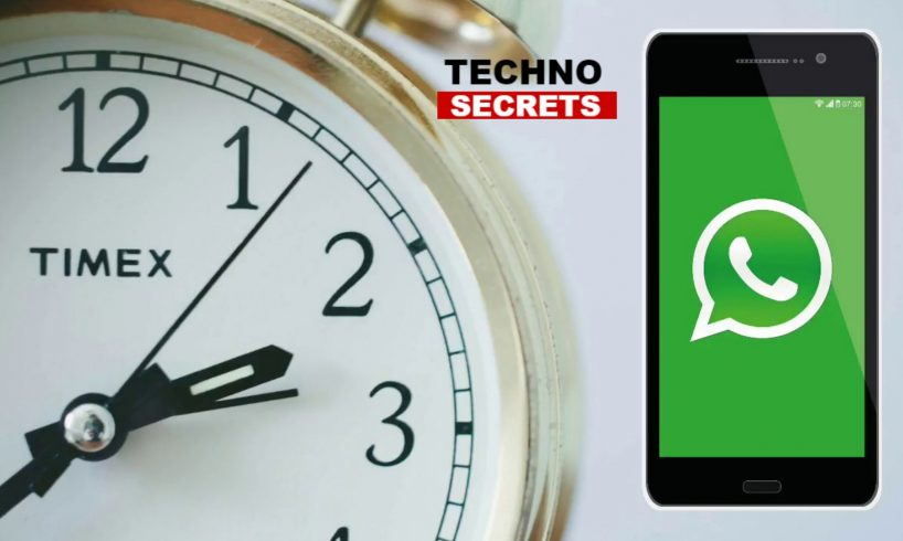 Steps To Schedule WhatsApp Messages on Android