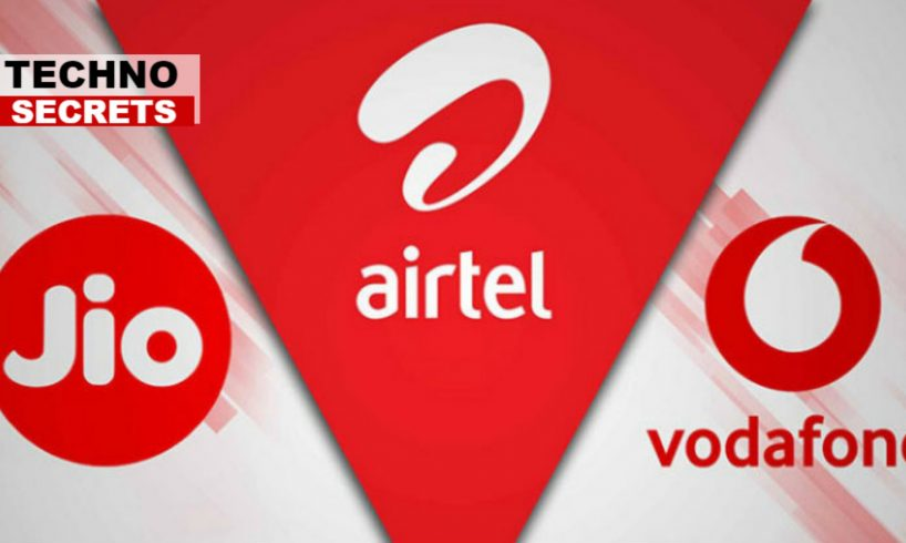 Prepaid Plans For #Airtel, #Reliance_Jio And #Vodafone Under Rs. 100.