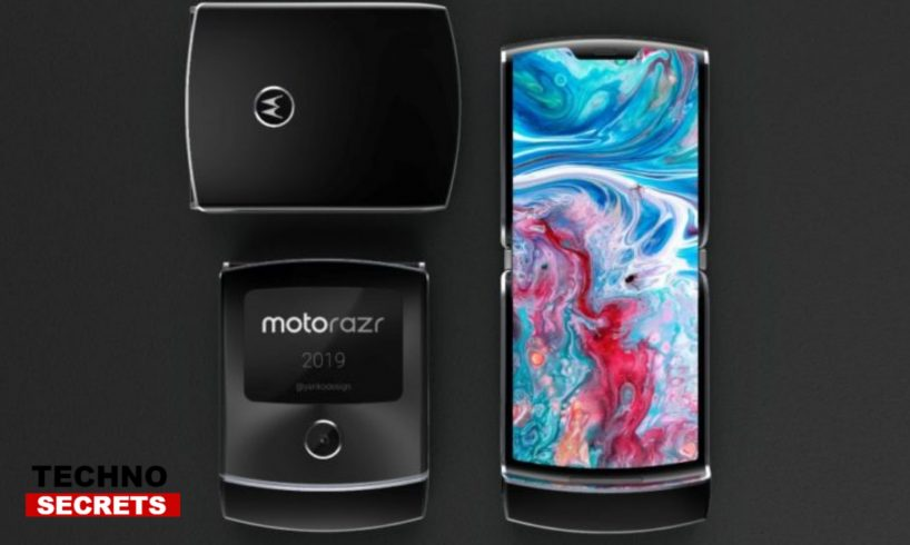 Motorola RAZR foldable phone software features hinted