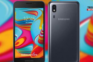 Samsung Galaxy A2 Core Launched in Indian Market_ Know Price, Specification