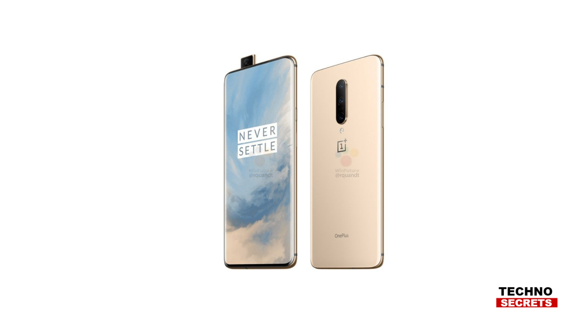 OnePlus 7 and OnePlus 7 Pro Renders Leaked Ahead of the Launch