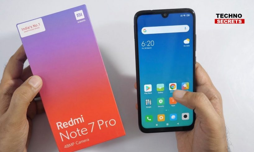 Redmi Note 7 Pro to Go on Sale Today via Flipkart, Mi.com at 12