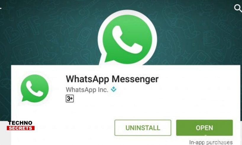 WhatsApp Back on Google Play Store After Disappearing For a While