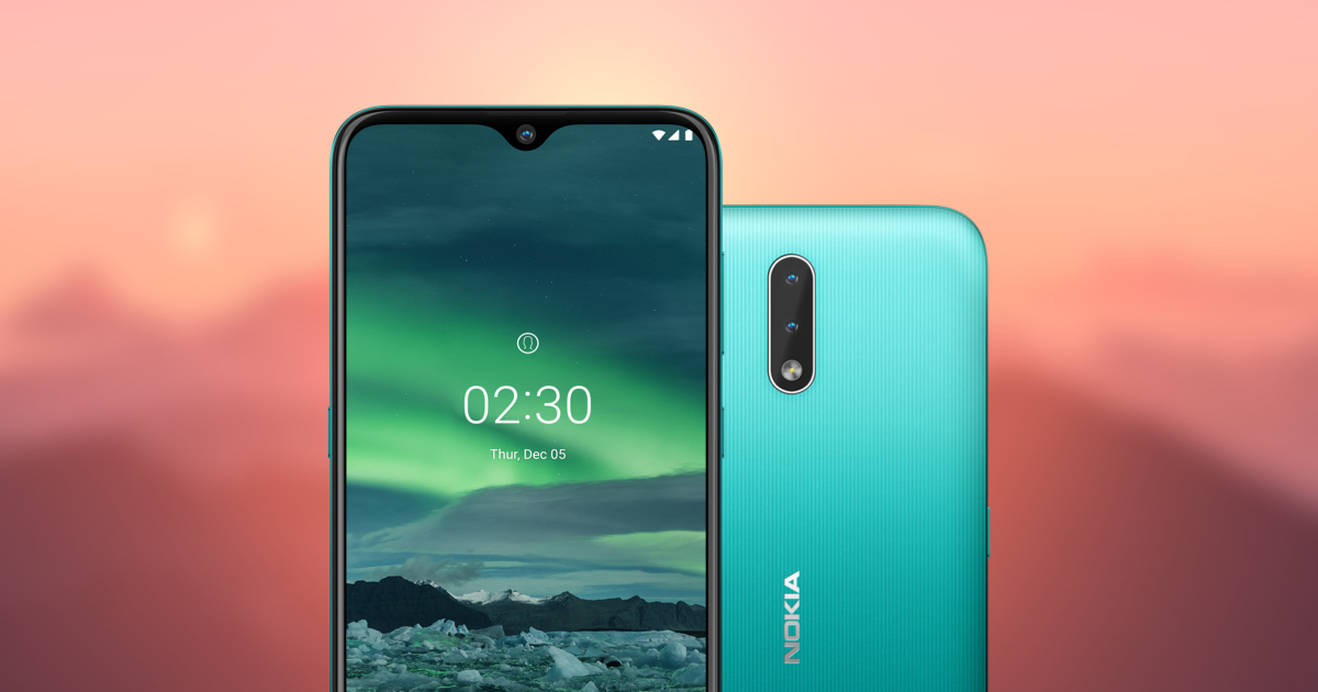 Nokia 2.3 With Dual Back Cameras launched in India