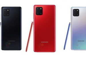 Samsung Galaxy Note 10 Lite is Set to Launch in India Tomorrow