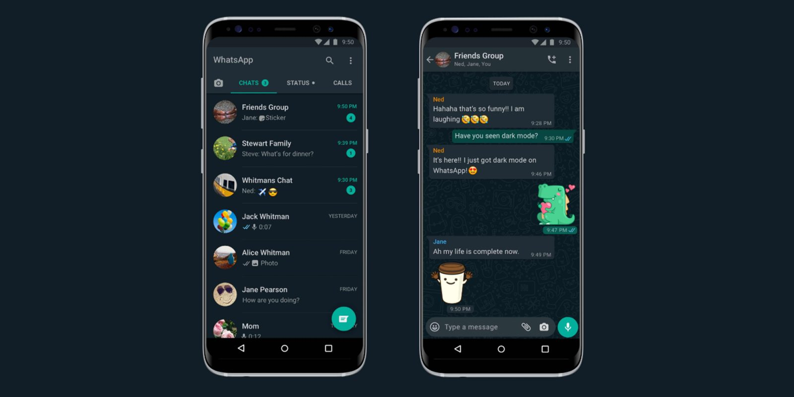 WhatsApp Dark Mode Now Available to All Android Users