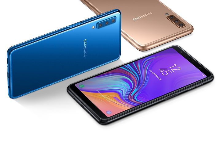 Report Suggests: Samsung Galaxy A7 Android 10 Rollout Starts in India