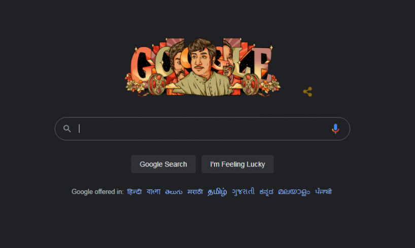 Doodle Personality Today on Google 01 October